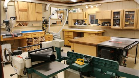 Combination-Garage-And-Woodworking-Shop