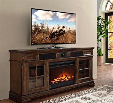 Combined Tv Stand And Fireplace Costco