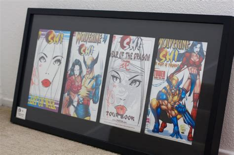 Comic Book Frame DIY