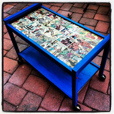 Comic Book Table Diy Ideas