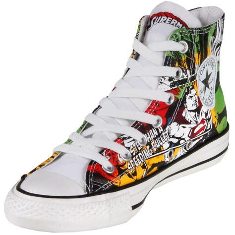 Comic Converse Sneakers