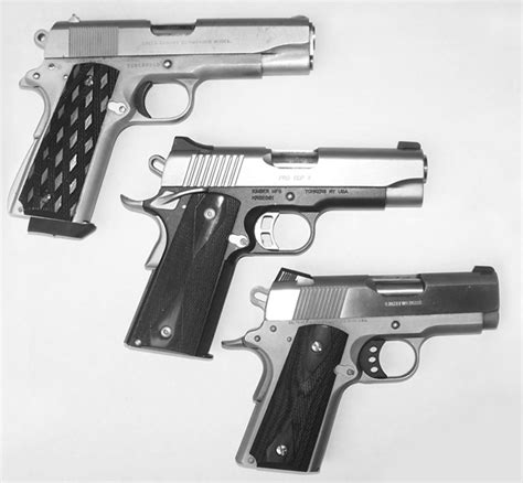 Commanders, Defenders and Officers Model 1911s