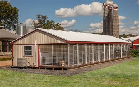 Commercial Dog Boarding Kennel Plans