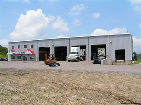 Commercial Truck Garage Plans