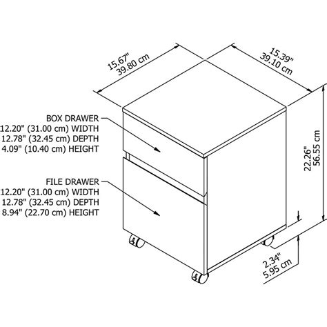 Common File Cabinet Sizes