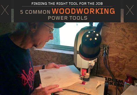 Common Woodworking Power Tools