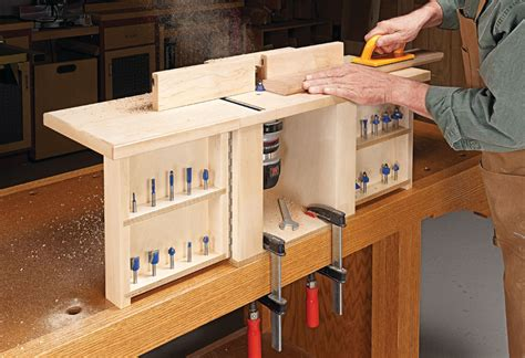 Compact Router Table Plans