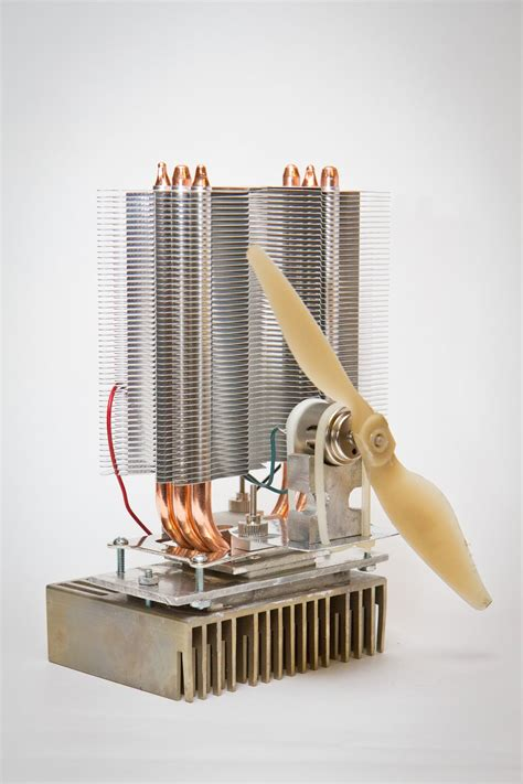 Compact Wood Stove Diy Fan