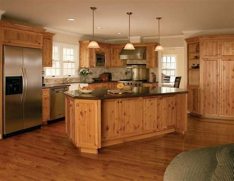 Complete Kitchen Cabinet Set Knotty Pine