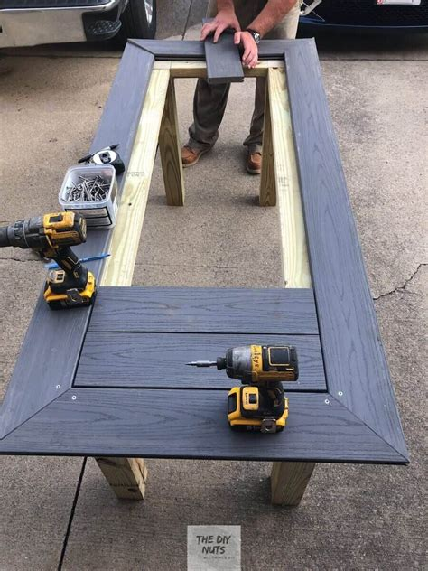 Composite Outdoor Table Plans