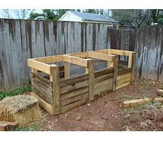 Best Compost bin plans wood