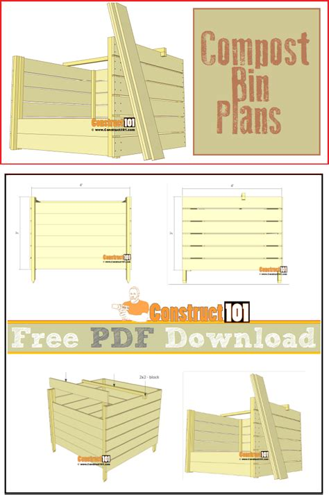 Composter Plans Pdfs