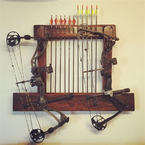 Compound Bow Rack DIY