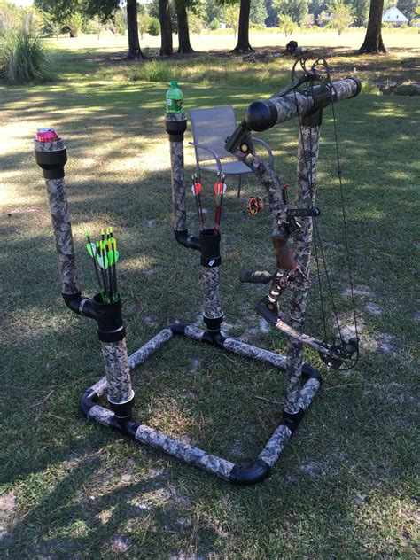 Compound Bow Stand Diy Videos
