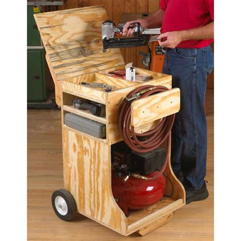 Compressed-Air-Work-Station-Woodworking-Plan