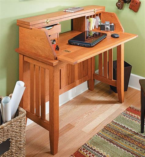 Computer-Desk-Woodworking-Projects