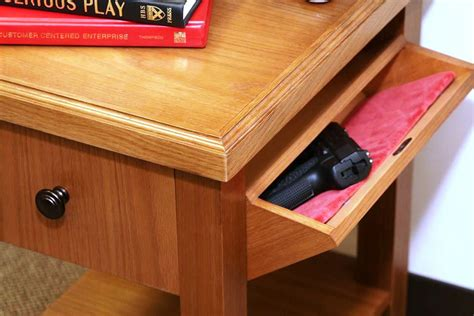 Concealed Weapon Furniture Plans
