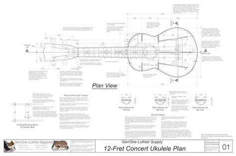 Concert-Ukulele-Plans