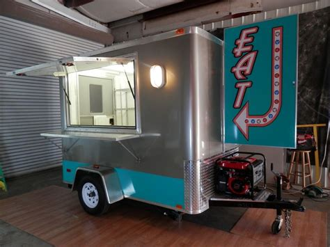 Concession Cart Trailer Dessert Diy