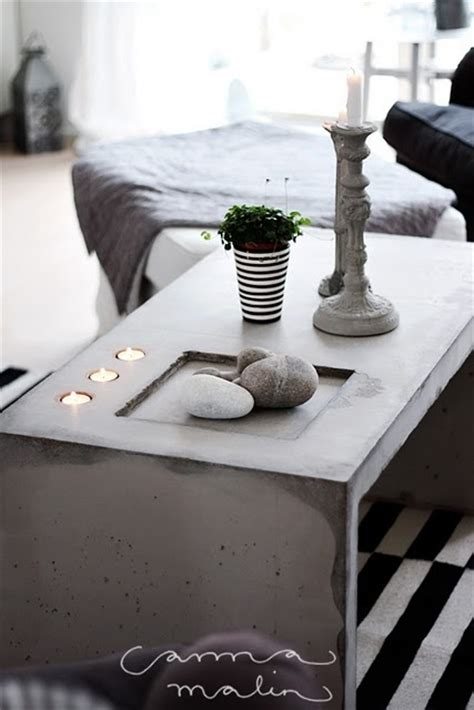 Concrete Bedside Table Diy Design