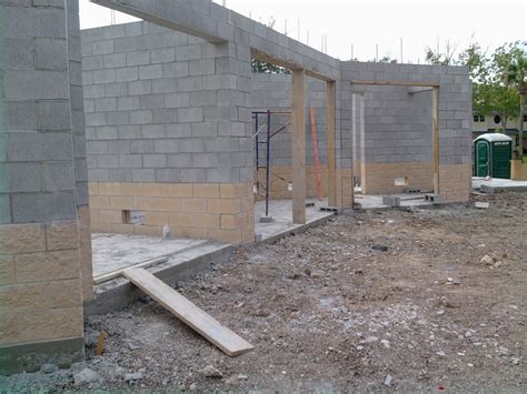 Concrete Block Garage Designs