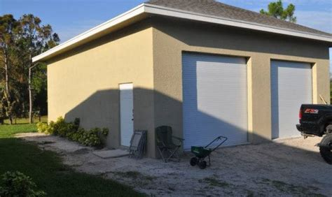 Concrete Block Garage Plans PDF