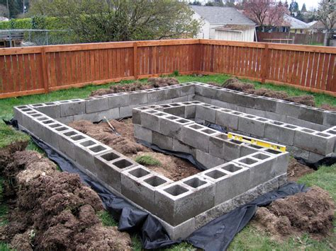 Concrete Block Raised Garden Bed Plans King