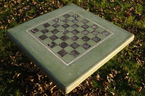 Concrete Chess Table DIY