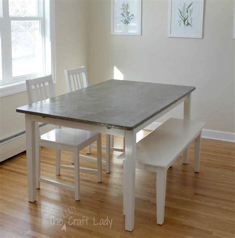 Concrete Dining Room Table DIY