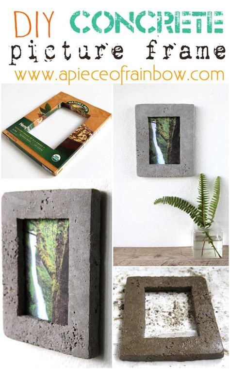 Concrete Picture Frame Diy Youtube