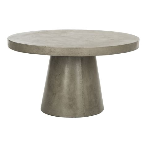 Concrete Round Coffee Table Diy 6