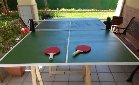 Concrete Table Tennis Diy Crafts