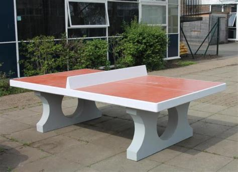 Concrete Table Tennis Diy Ideas