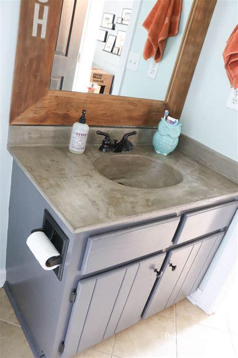 Concrete-Countertops-Diy-Bathroom-Vanity