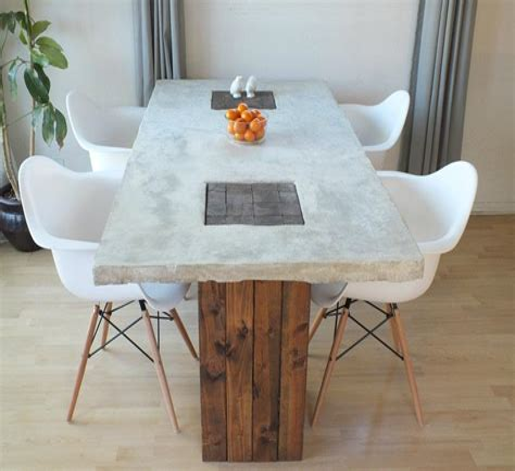 Concrete-Wood-Table-Diy