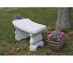 Best Concrete garden benches clearance