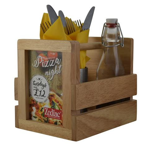 Condiment Carrier Wood Diy Cupcake