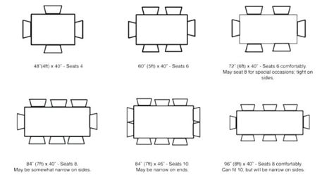 Conference Table Dimensions And Seating