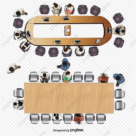 Conference-Table-Plan-View