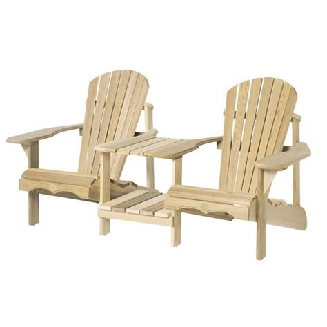 Connected-Adirondack-Chairs