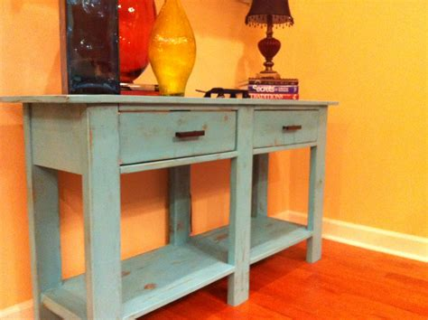 Console Table Building Plans