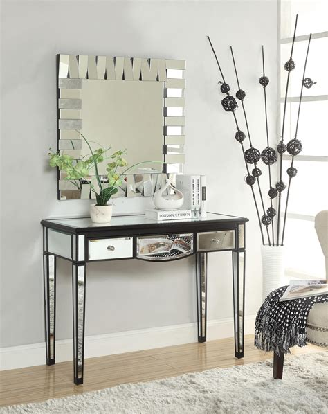 Console Table Hallway Mirror