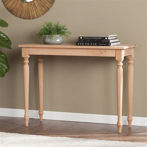 Console-Table-Diy-Wood