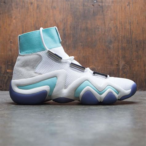 Consortium x Nice Kicks Men Crazy 8 A//D (White/Off White/Energy Aqua)