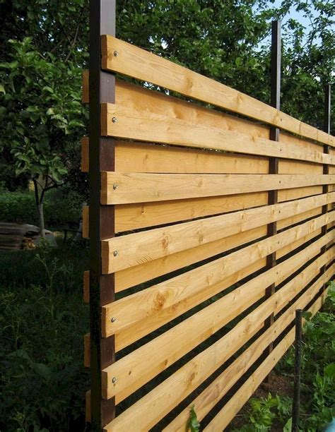 Construct A Diy Wood Privacy Fence