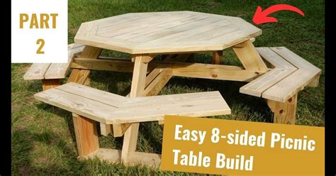 Construction Plans For Picnic Table