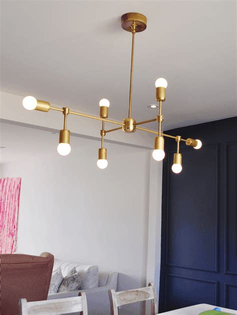 Contemporary Diy Light Fixtures