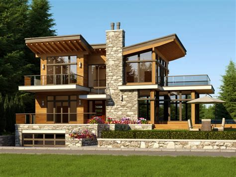Contemporary West Coast House Plans