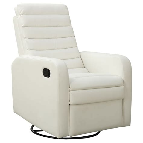Contemporary White Recliners