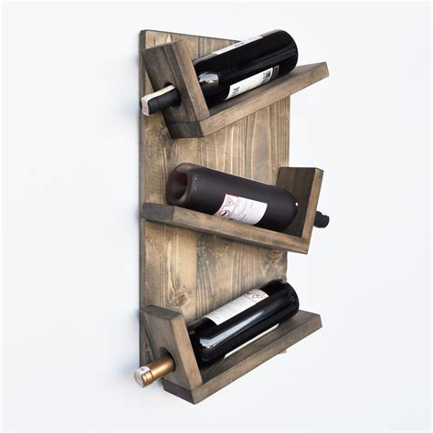 Contemporary Wine Rack Woodworking Plans